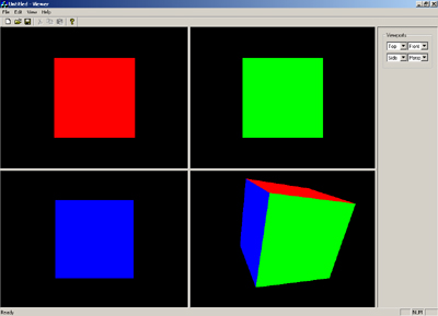 Multiple viewports with modern OpenGL?