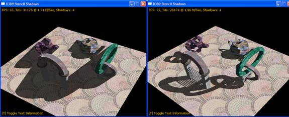 GameDev net - An Example of Shadow Rendering in Direct3D 9